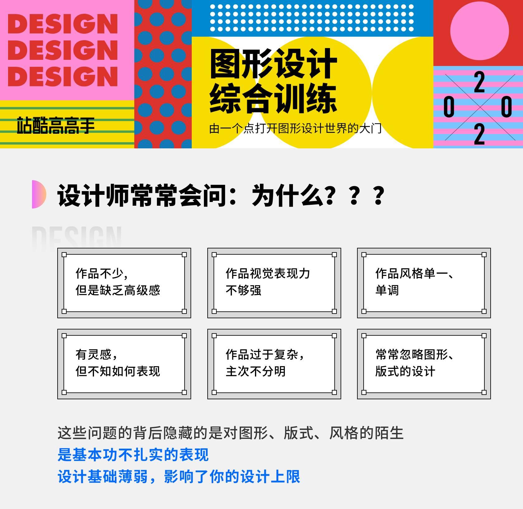 2020最新【高高手】曹凡图形海报综合应用